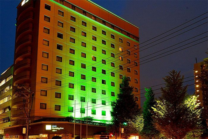 ANA Holiday Inn Sendai main exterior